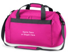 Personalised Bag Mini Freestyle Holdall 'Your Own Text' BG200